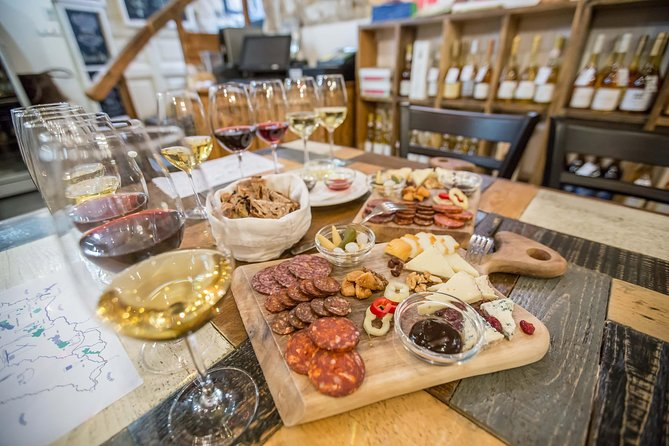 Hungarian Wine Tasting (with Cheese and Charcuterie) in Budapest