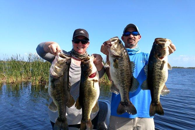 All Day Lake Okeechobee Fishing Trip near Palm Beach