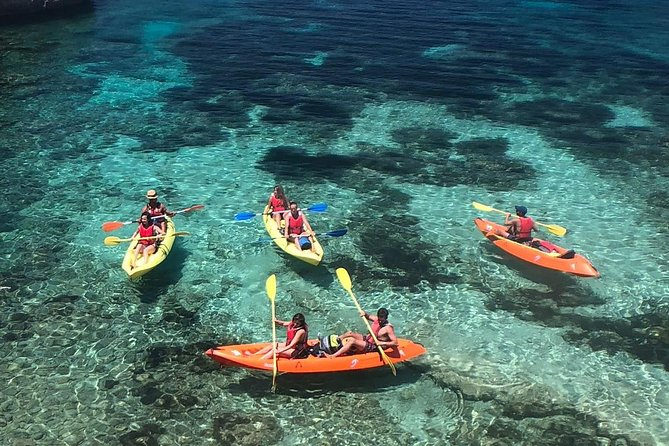 Ibiza - Xarraca Bay- Kayaking Tour MultiActivity