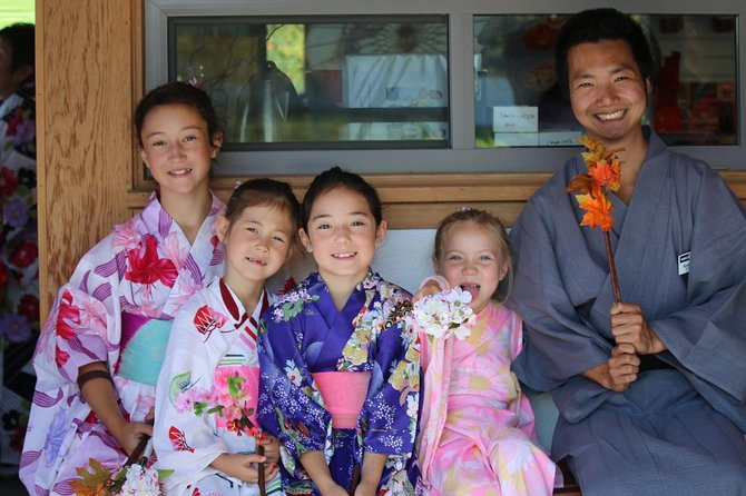 Kazoku (Family) Package (Includes FIVE admissions)