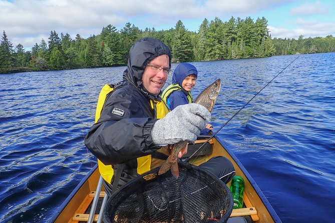 3 Hour Algonquin Park Bass & Trout Fishing (private, price is for 2 people)