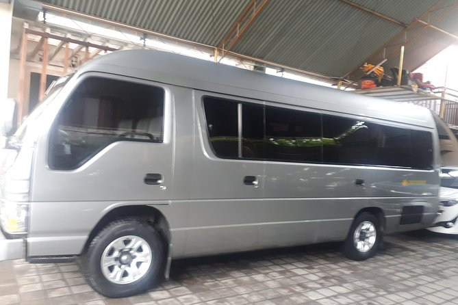 Private Transfer Mini Bus 14 Seat From Airport To Jimbaran Area
