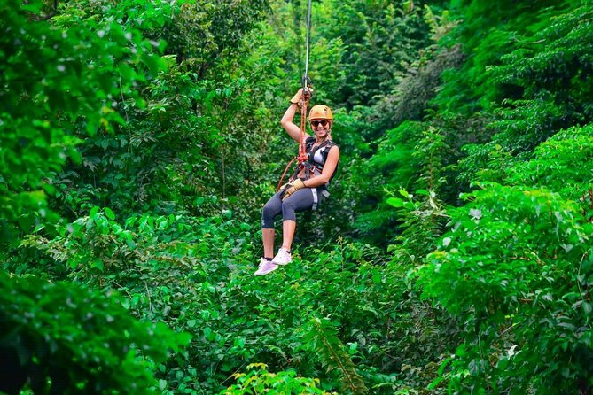 ATV Zipline Tour from Tamarindo/Flamingo