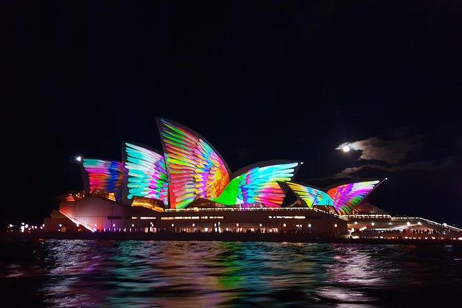 Sydney Harbour VIVID Lichter Kreuzfahrt
