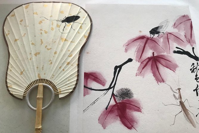 3-Hour Tradtional Ink and Brush Painting with Calligraphy Workshop in Beijing photo 6
