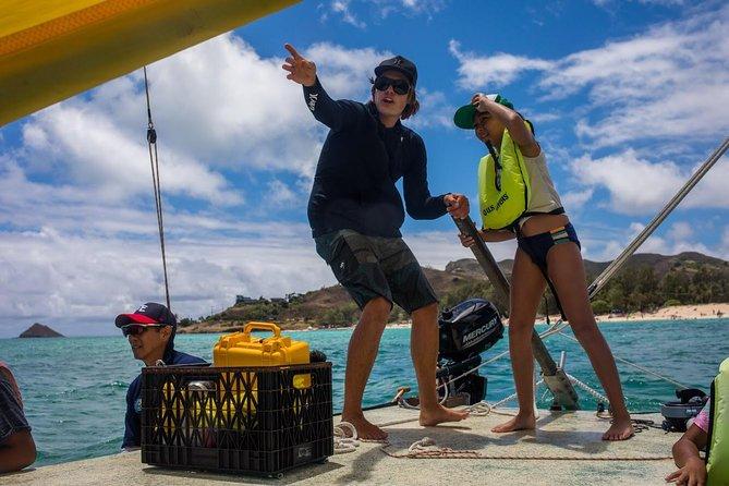 Hawaiian Sailing Adventure to Na Mokulua (Twin Islands) in Kailua, Oahu