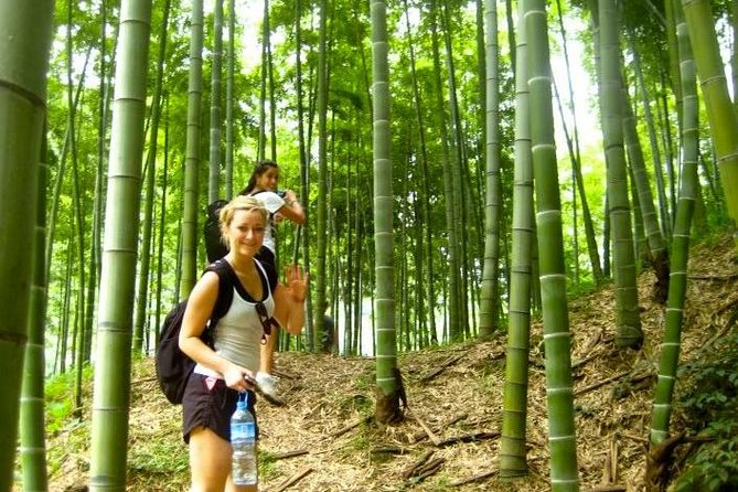 2-Day Private Hiking and Biking Adventure in Moganshan from Shanghai