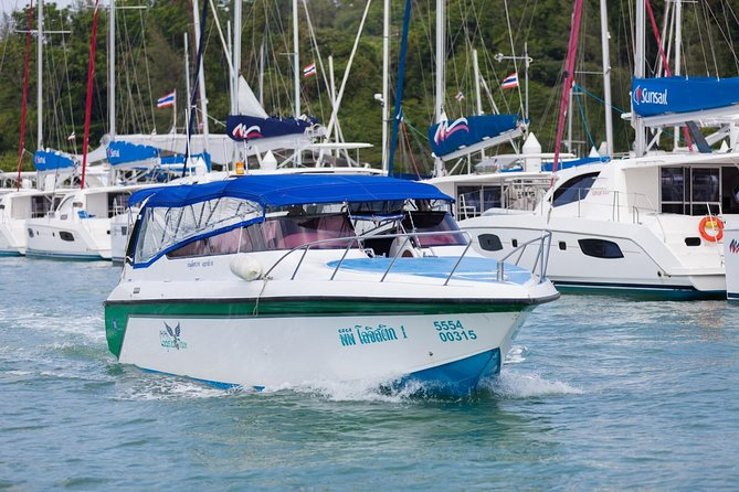Phuket to Koh Phi Phi VIP Speedboat Transfer with Hotel or Airport Pickup