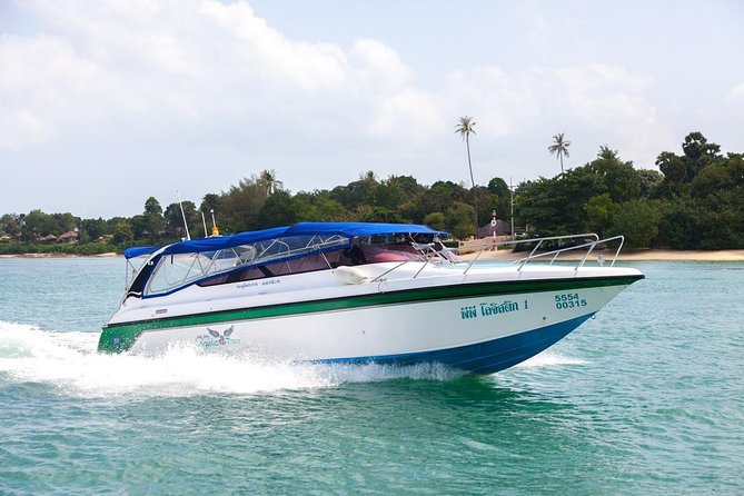 Koh Phi Phi to Krabi VIP Speed Boat Transfer with Hotel or Airport Drop-Off