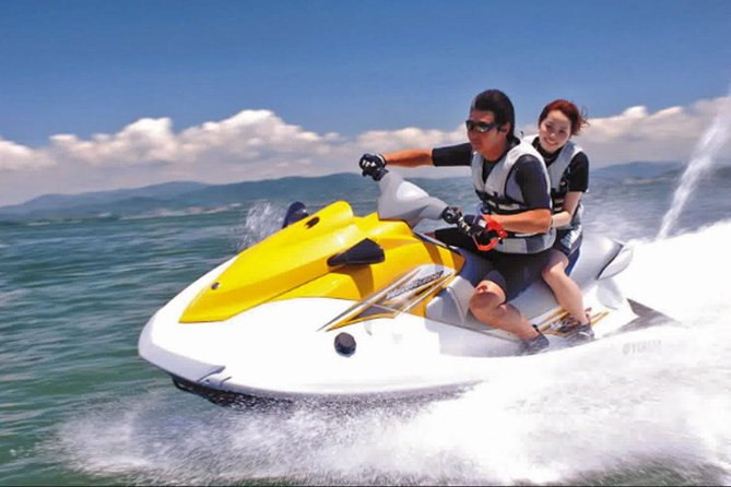 The sensation of driving a Jet Ski with instructor in Bali