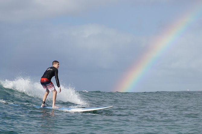 Private 1.5-Hour Surfing Lesson in Honolulu