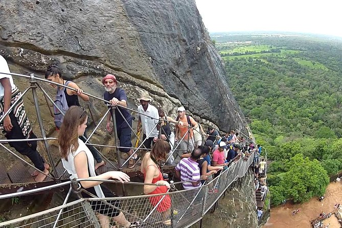 Private day tour to Sigiriya and Dambulla from Negombo