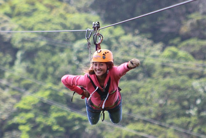 100% Adventure Park Combo: Zipline, Superman, and Mega Tarzan Tour in Monteverde
