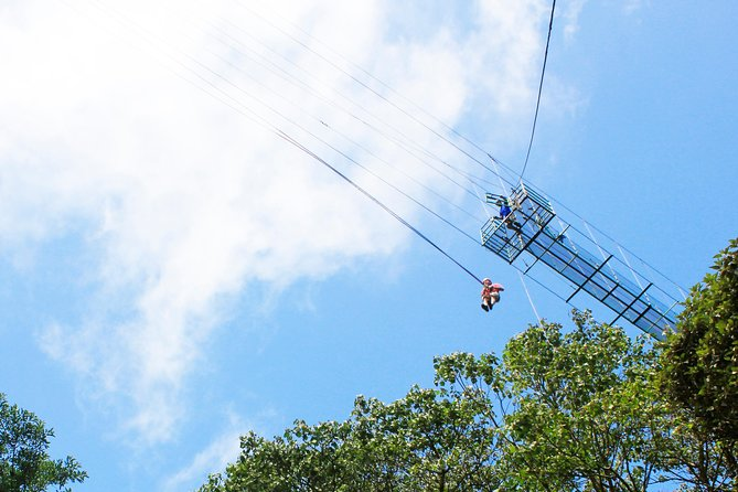 100% Adventure Park Combo: Zipline, Superman, and Mega Tarzan Tour in Monteverde photo 3