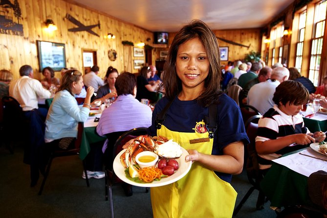World Famous George Inlet Lodge All You Can Eat Dungeness Crab Feast