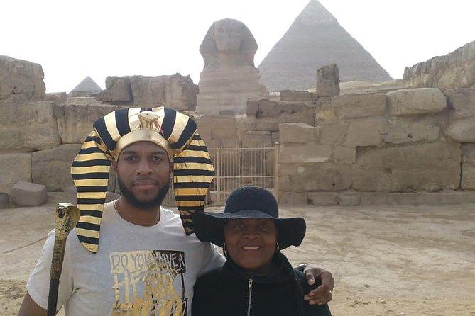 Giza complex pyramids sphinx day tour