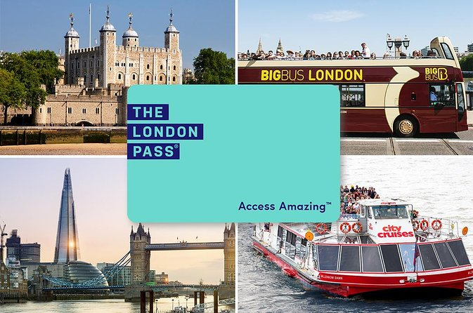 London Pass Including Hop-On Hop-Off Bus Tour and Access to Over 80 Attractions