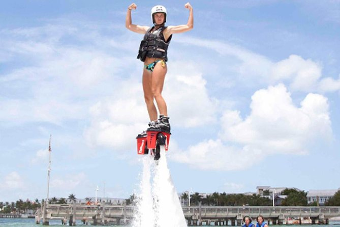 Water Sport Package-Private Transfer-Jet Fly Board-Parasailing Adventure