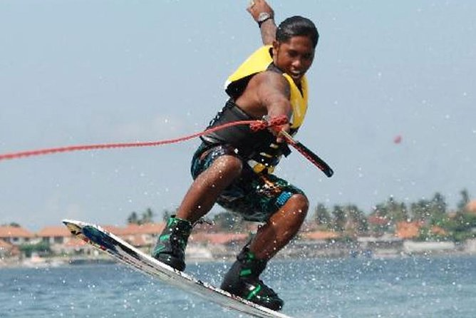 Wakeboarding activities using speedboats and the most challenging