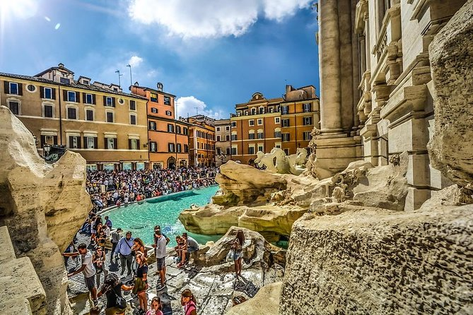 Rome in a day:Colosseum, Fountains & Squares Private Tour with Transfers & Lunch