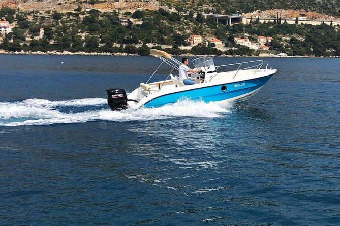 Elafiti Islands Private Tour med Fisher 20 Speedboat