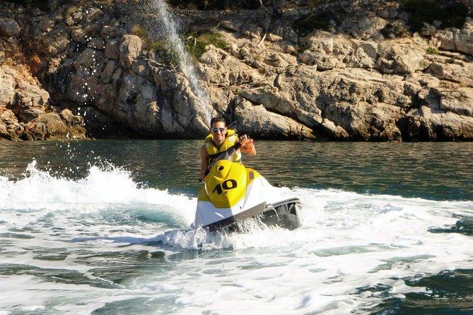 1,5-stündige Jet-Ski-Tour von Port d'Alcúdia