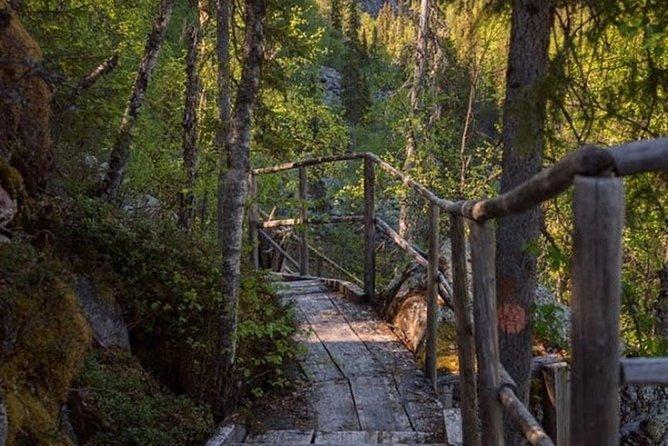 Korouoma National Park & Frozen Waterfalls Adventure