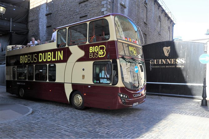 Guinness Storehouse Fast-Track Ticket and Big Bus Dublin Hop-on, Hop-off Tour