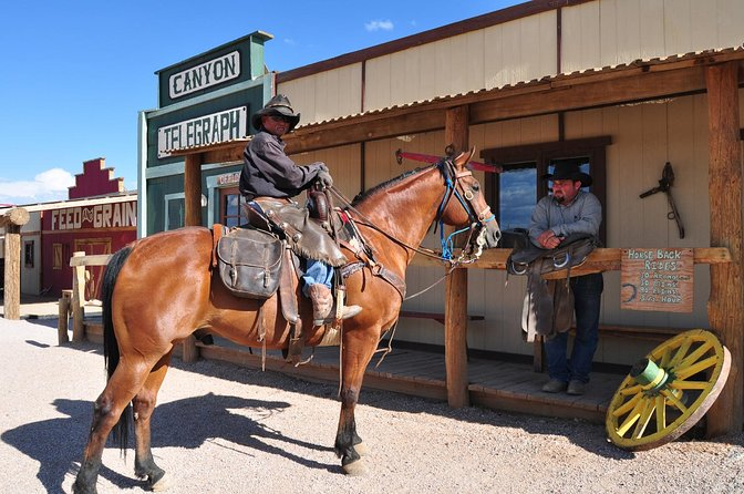 Cowboys at the Grand Canyon Western Town