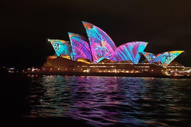 Vivid Dinner Cruise Sydney Harbour