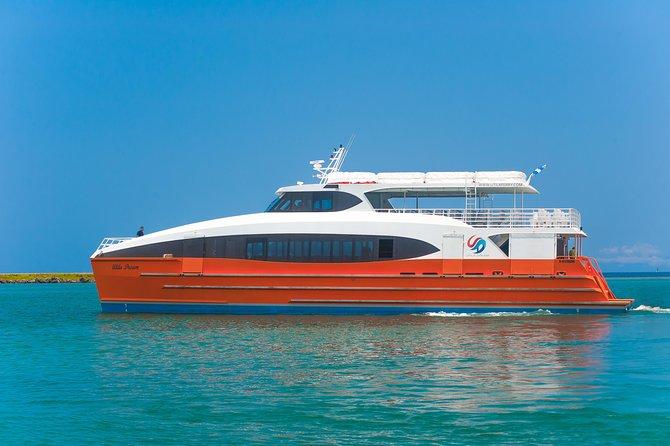 Ground transfers and ticket ferry to Utila or La Ceiba