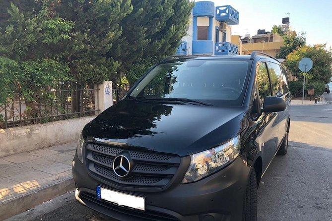 Heraklion Airport to Agios Nikolaos up to 8 people