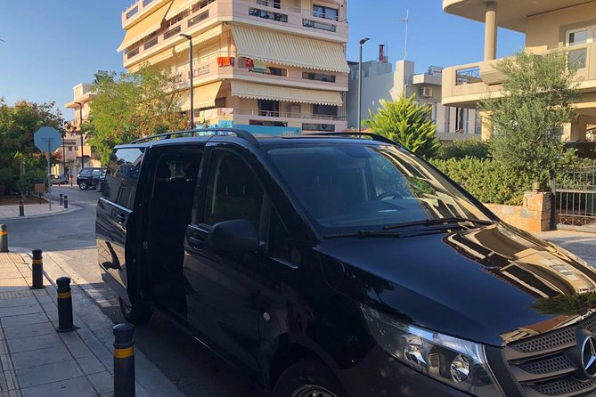 Private Transfer: Heraklion Airport or Port - Agios Nikolaos up to 8 people