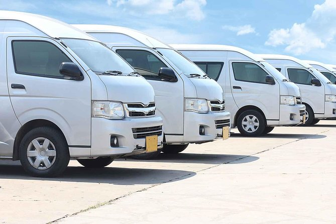 Private Van: Phuket Airport Transfers