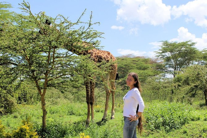 Walking with animals in lake Naivasha day tour
