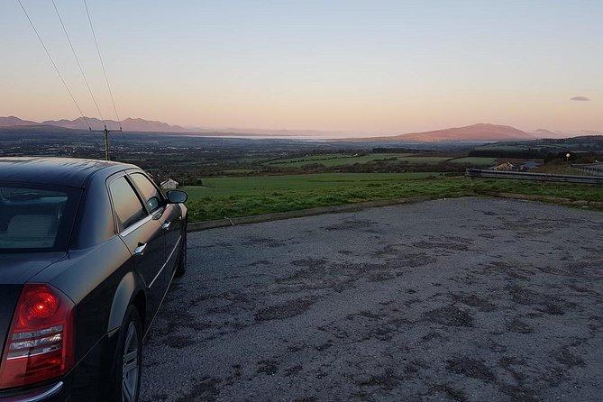 Shannon Airport to Killarney , Private Chauffeur Transfer . Premium Sedan