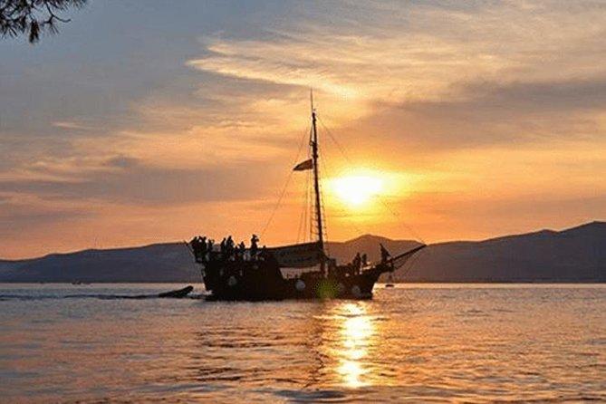 Sunset Pirate ship tour