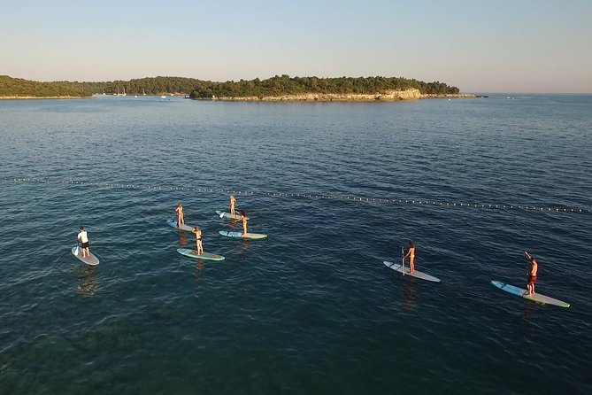 3-Hour Stand-Up-Paddle Adventure Island Tour in Medulin