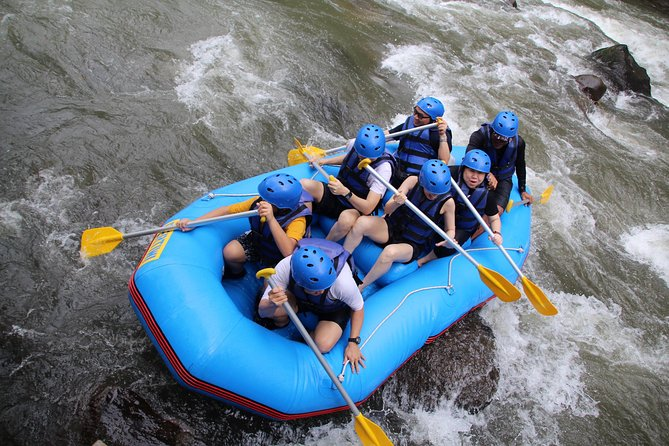 Top Game of White Water Rafting at Ayung River