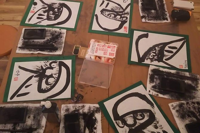 Sumi-e painting class Experience