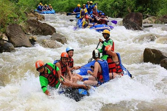 PHUKET: Join Tour Real Rafting 7 Km..+ Buddha Cave + waterfall with Lunch (RD)