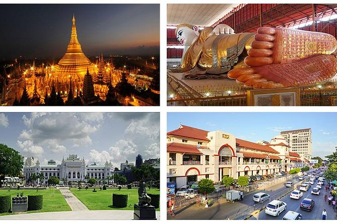 Yangon Day Tour including Lunch & Dinner (Private)