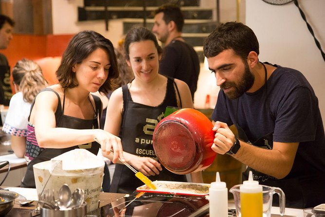 3.5-Hour Small-Group Tapas Cooking Class in Madrid
