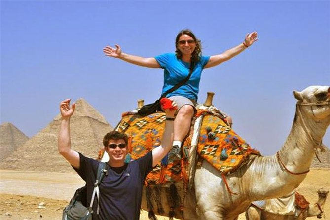 Half Day Tour Adventure for the Pyramids sphinx 45 Minutes camel Ride photo 13
