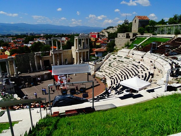 Plovdiv with Lunch from Sofia