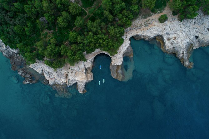 Stand-Up-Paddle ADVENTURE ISLAND Tour in Pula