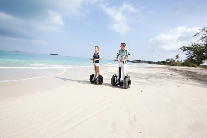 Antigua Historic Fort & Beach Tour on Segway