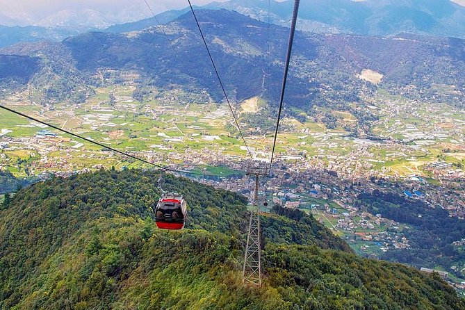Chandragiri Hill Day tour, Moutain and valley Panoramic view photo 2