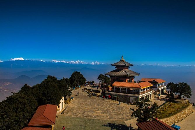Chandragiri Hill Day tour, Moutain and valley Panoramic view photo 1