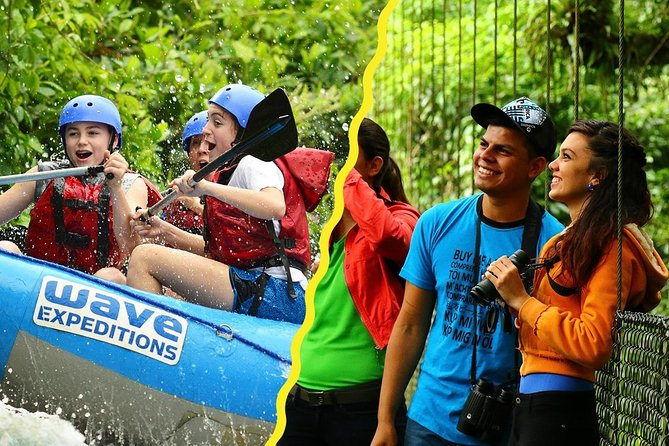 Class II-III Rafting and Hanging Bridges from La Fortuna